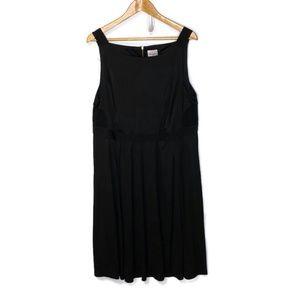 Ashley Graham Black Beyond Dress Mesh Side 18W